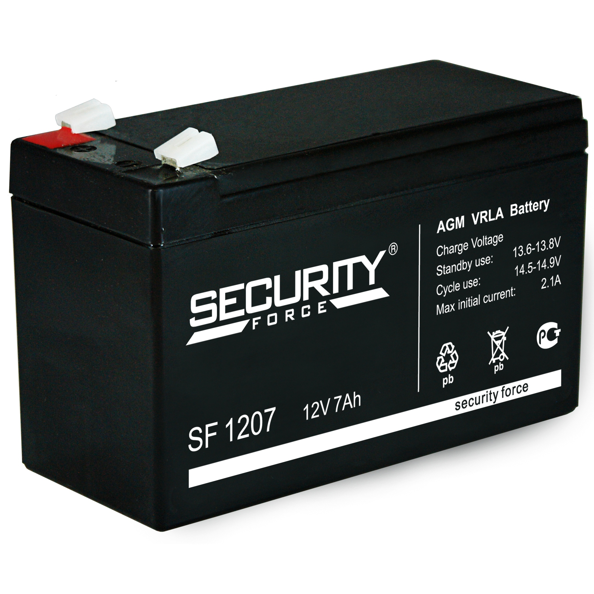 SF 1207 - аккумулятор Security Force 7ah 12V